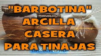 Como hacer tinajas de barro con botellas - IMITATION JARS, VESSEL OF MUD, MINIATURES... - YouTube