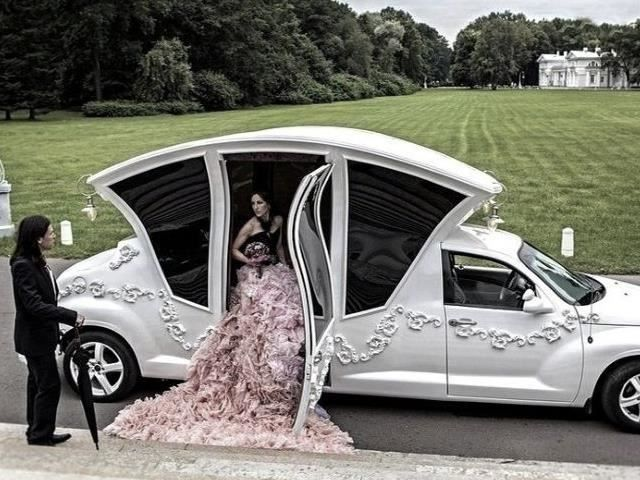 This Russian Pt Cruiser Limo Is Just Odd