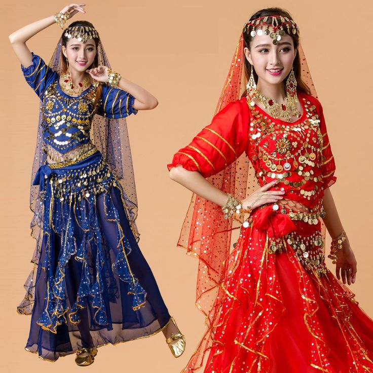 2017 New Lady Belly Dance Costume Bollywood Costume Indian Dress Bellydance Dress Womens Belly Dancing Costume Sets 7 Color