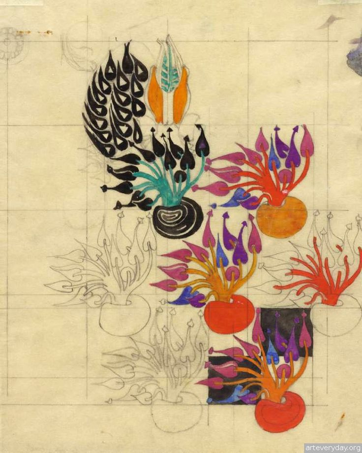 14  Чарльз Ренни Макинтош-Charles Rennie Mackintosh   ARTeveryday.org