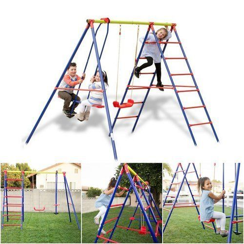 Kids-Outdoor-Playsets-Swing-Sets-For-Backyard-Childrens-Solid-Kit-Climber-Gym