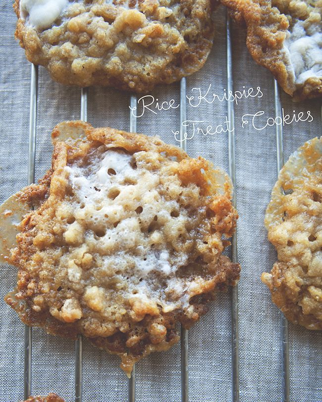 RICE KRISPIES TREAT COOKIES