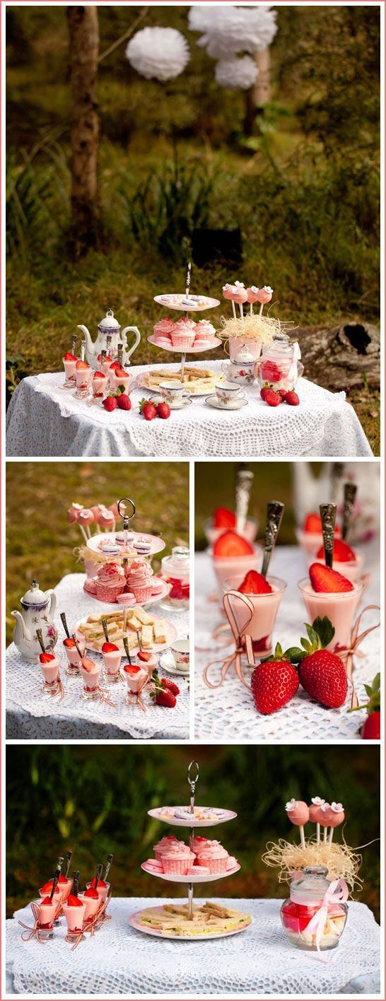 Enchanted Forest Tea Party, @Janine Hardy Shreve this is what I had in ...