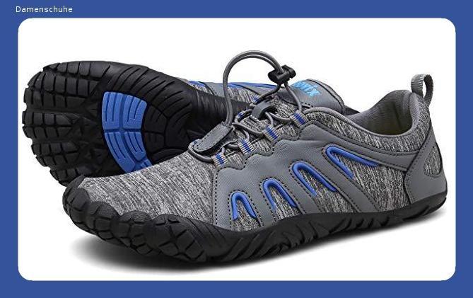 Voovix Herren Damen Barfußschuhe Fitnessschuhe Laufschuhe