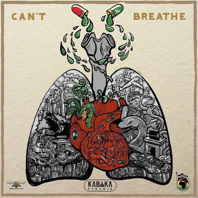 Kabaka Pyramid - Can't Breathe (Ghetto Youths International / Bebble Rock Music)  #BebbleRockMusic #Can'tBreathe #Contraband #GhettoYouthsInternational #KabakaPyramid #KabakaPyramid