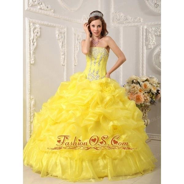 Bright yellow 15 dresses