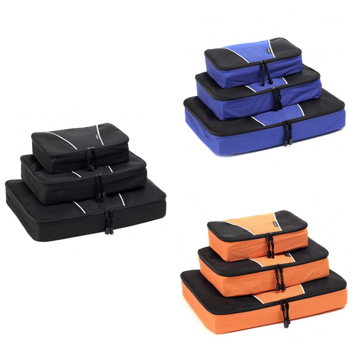 Packing cubes to keep your luggage stay organized. Available also in amazon.com search : neatpack