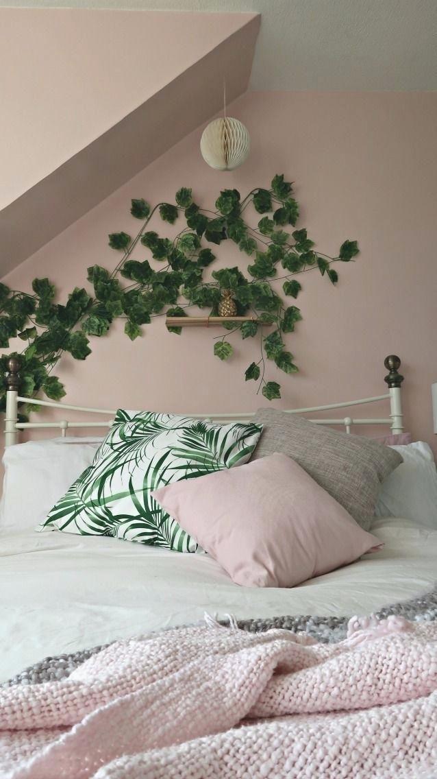 Image Result For Pink Grey And Green Bedroom Pink Bedrooms Copper Bedroom Tropical Bedrooms