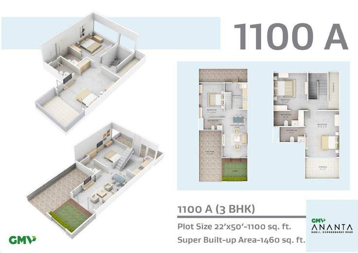 1100 A Floor Plan http://www.nethomes.in/projects.php