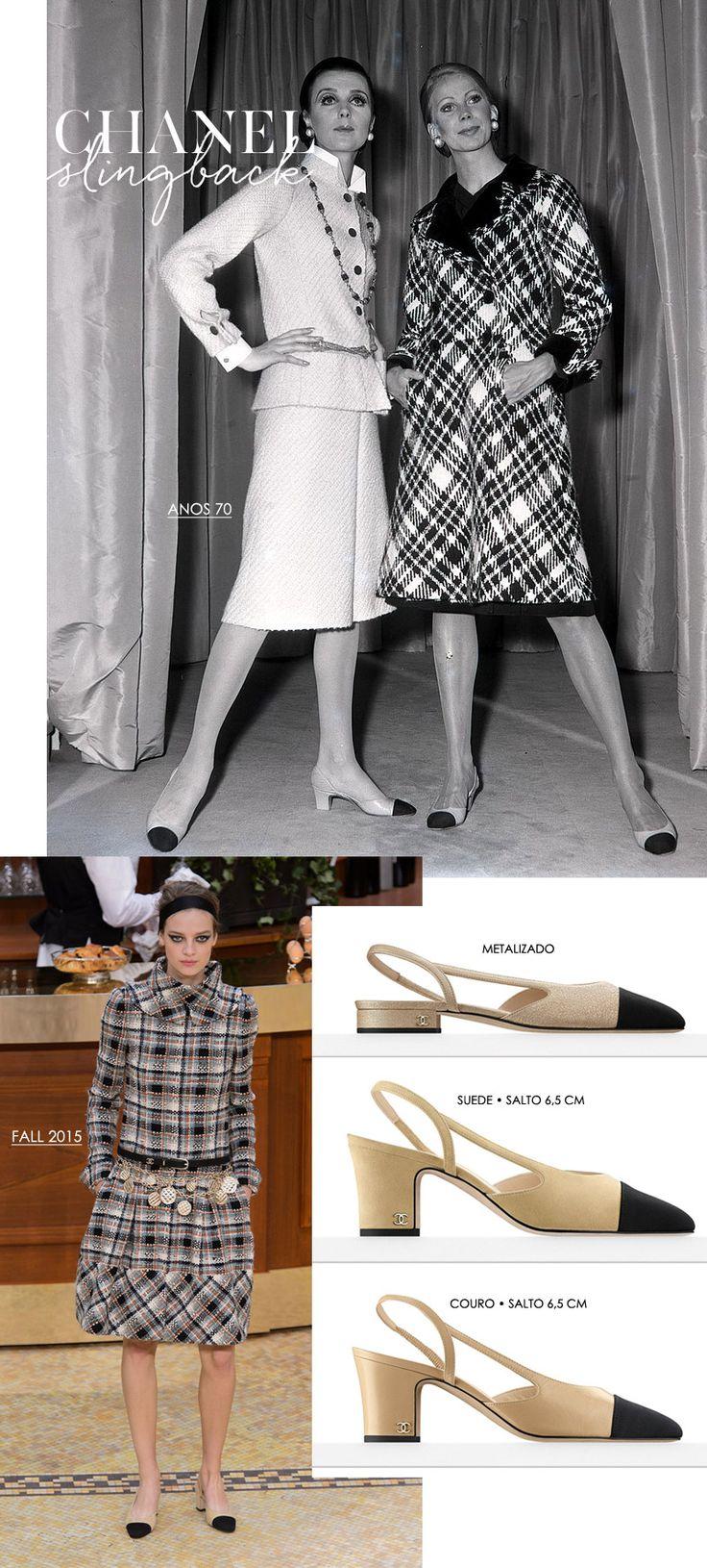 O sapato da vez: cap toe slingback da Chanel