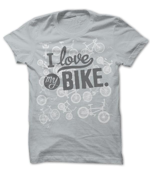 i love my bike shirt