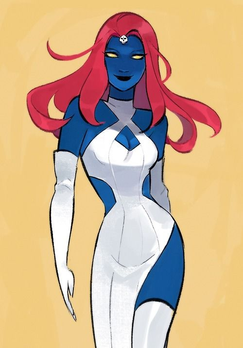Mystique Monday by http://mayonose.tumblr.com/post/93733109809/mystique-monday-im-doing-a-thank-you-giveaway