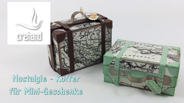 Wenn andere eine Reise tun... ;-), dann schenken wir gerne eine Kleinigkeit. Jetzt habe ich für euch eine ansprechende Reise-Verpackung entworfen und zeige e...