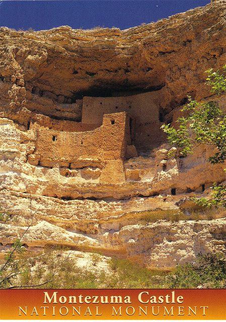 Montezuma Castle Cliff Dwellings | Montezuma Castle National Monument Arizona