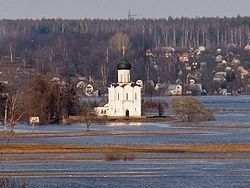 Church of the Intercession on the Nerl, White Monuments of Vladimir & Suzdal (UNESCO World Heritage Site), Russia