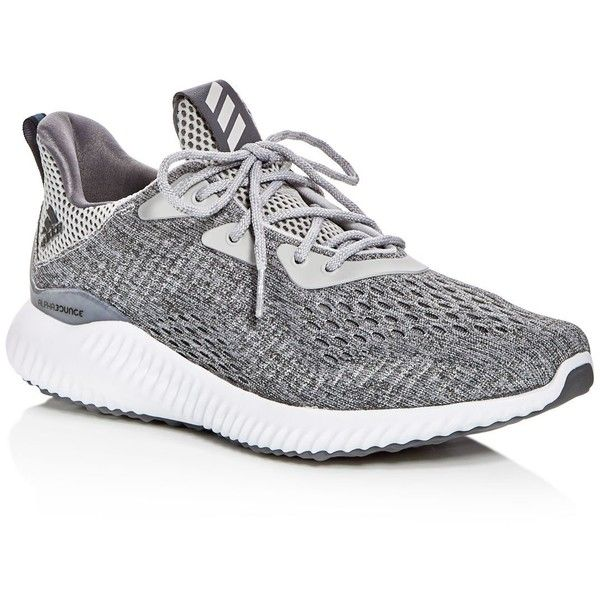 Adidas Women's Alphabounce Engineered Mesh Lace Up Sneakers (290 TND) ❤ liked on Polyvore featuring shoes, sneakers, adidas trainers, adidas sneakers, laced sneakers, lacing sneakers and laced up shoes