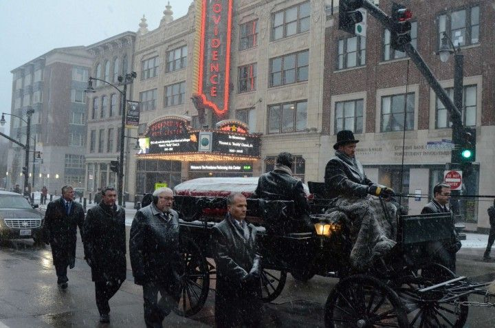 GoLocalProv | PHOTOS: Scenes From Buddy Cianci's Funeral