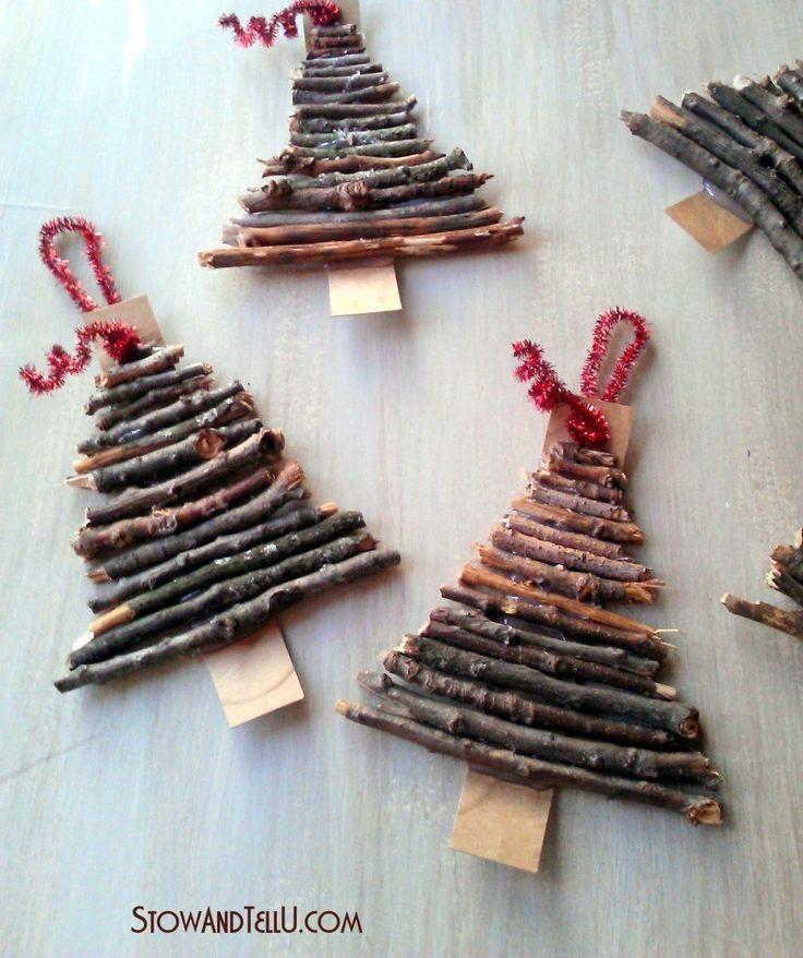 homemade christmas tree decorations