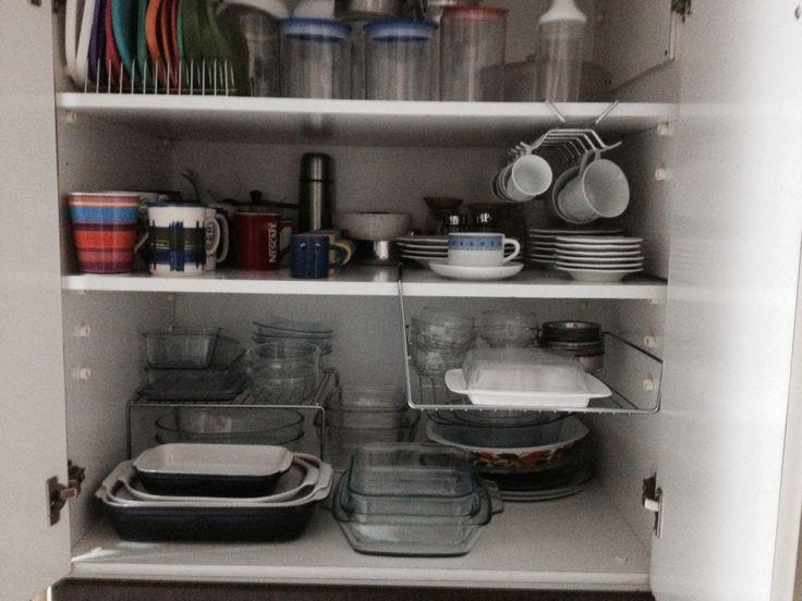 Arm rio da cozinha melhor aproveitamento do espa o - Organizador de armarios ...