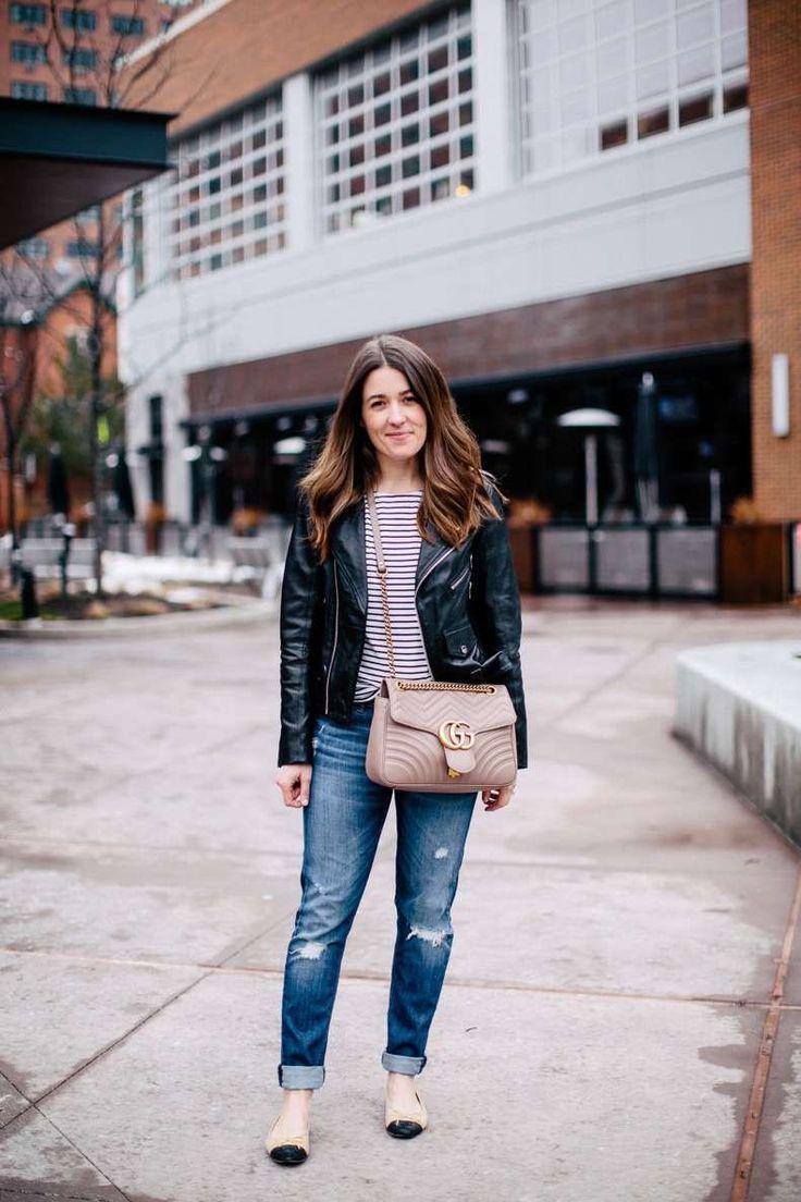 18 Outfits Con Chaqueta De Cuero Para Un Día Normal   Cut & Paste – Blog de Moda
