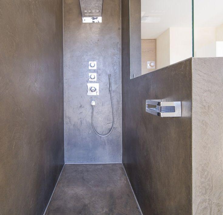 Die fugenlose Dusche – edel und très chic