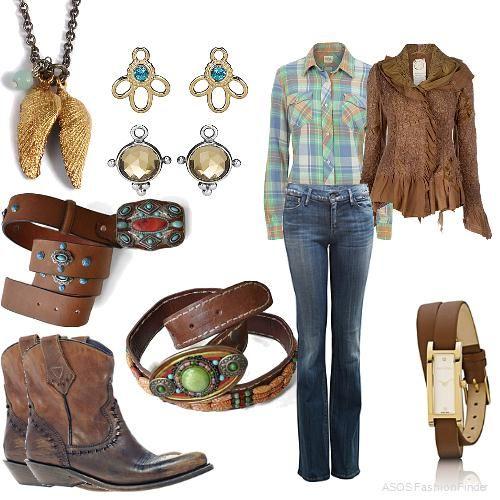 Cowgirl style... @Michelle McCurrach @ATB Financial #atbfashionroundup
