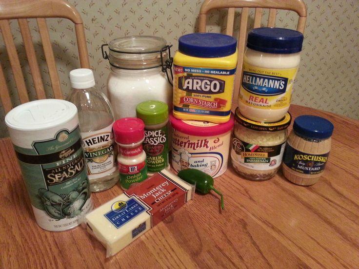 Pepper Jack Sauce Ingredients