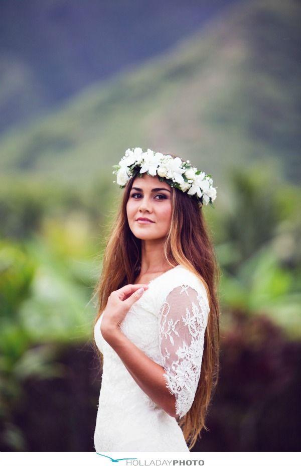 Tropical Flower Crowns For Your Island Wedding - Bajan Wed