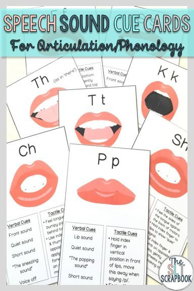 These cue cards are great at helping SLPs to provide students with consistent verbal and tactile cues when they're learning new speech sounds!  24 different speech sounds are represented in this pack; each has a visual image and some ideas for verbal and tactile cues you can provide! Prep them once and use them over and over again!