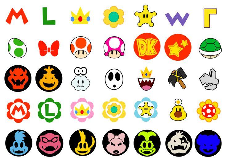 Super Mario Cute Characters 1 By Superlakitu On Deviantart