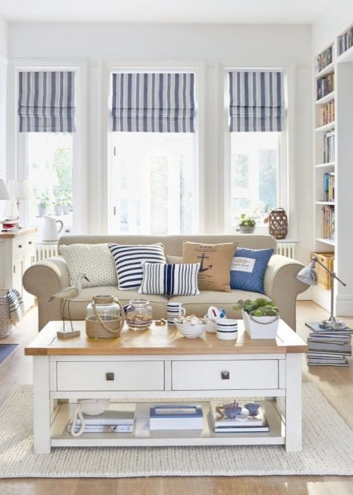Houzz Cottage Living Room: Houzz Beach Cottage Decor Coastal Decor Of Wilmington