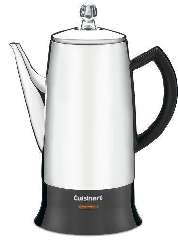 Cuisinart PRC-12 コーヒー濾し器 Classic 12-Cup Stainless-Steel パーコレーター Percolator Black/Stainless [並行輸入品] Cuisinart (クイジナート) http://www.amazon.co.jp/dp/B010GZV2T6/ref=cm_sw_r_pi_dp_11qdwb1HHVG5P