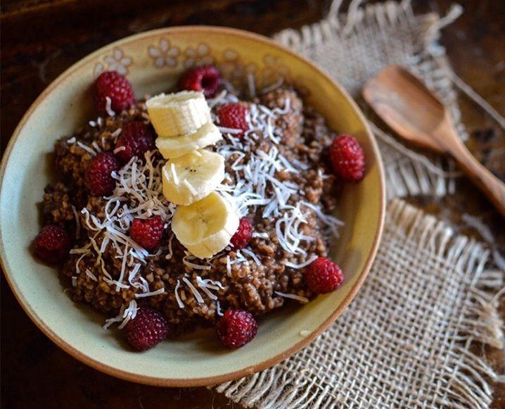 Chocolate Raspberry Oats + Chocolate Black Bean Brownies
