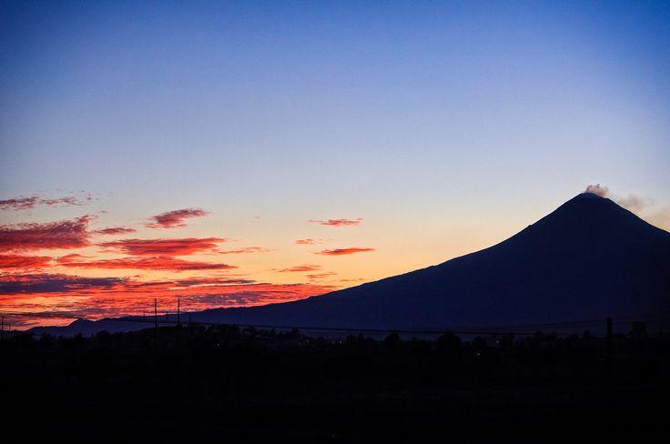 Popocatepetl (March 17th, 2014) by Eduardo De la Vega on 500px