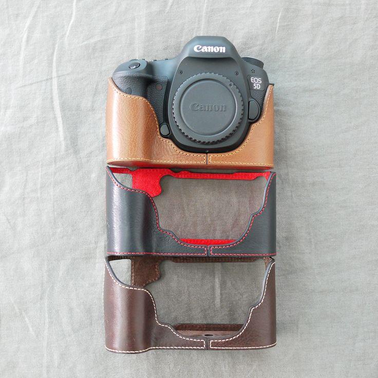 Canon Eos 5D Half Case - alle Half Cases unter: www.designstraps.de/ciesta    #halfcase #body #bodyjacket #camera #kamera #dslr #photo #shooting #leder #accessoire #photography #ciesta #designstraps #foto