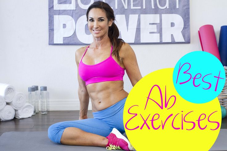 Video! The 5 Best Ab Exercises | with Natalie Jill!