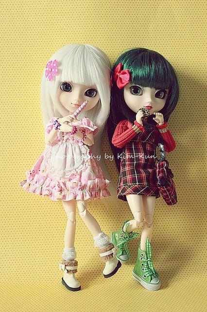 Yumiko & Mido - Pullip MyMelody & Pullip Haute NY