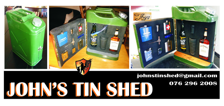 Re purposed Jerry can