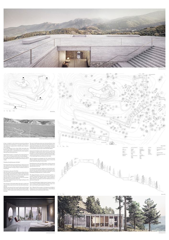 Gallery of YAC Announces the Winners of Castle Resort Competition - 21