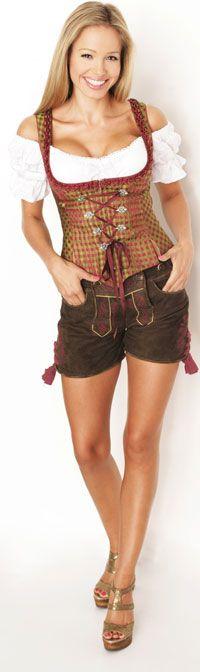 This is so cute. Womens lederhosens