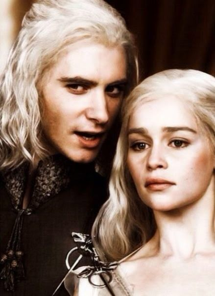 Viserys Targaryen and Daenerys Targaryen