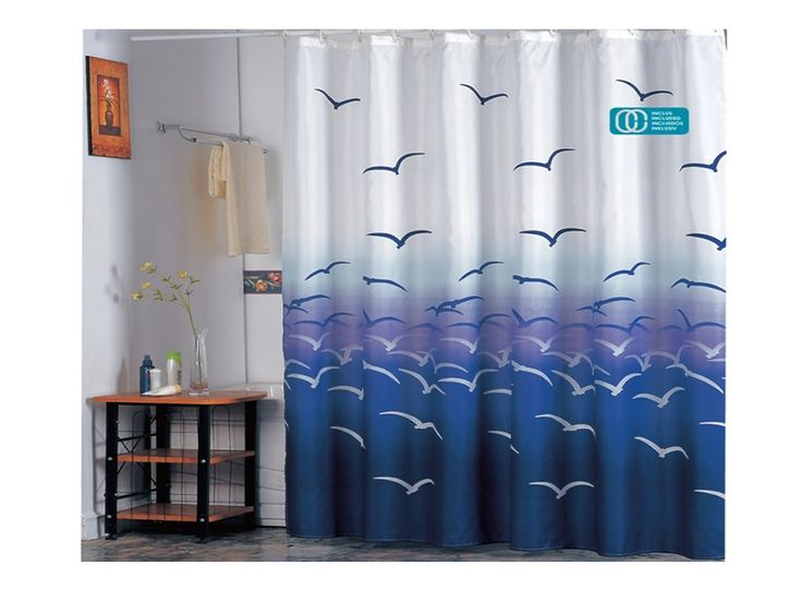 #cortinas para #baño con #gaviota https://www.catayhome.es/categoria/cortinas-de-bano/