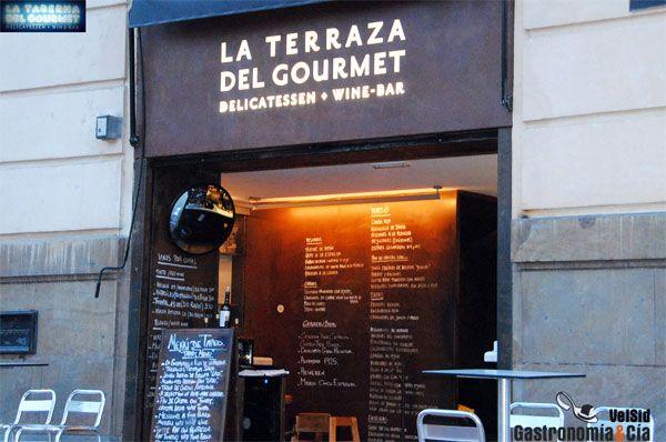 La Terraza de La Taberna del Gourmet (Alicante)