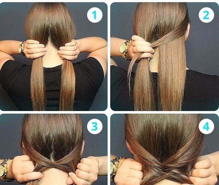 Messy Fishtail Braid How To Hair Pinterest Messy