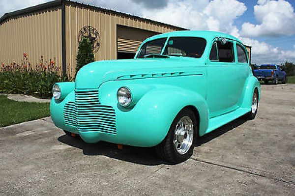 Chevrolet other none 1940 chevy 2 door sedan street rod for 1940 chevrolet 2 door sedan