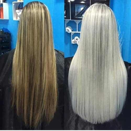 NavegaçãoComo platinar os cabelosPlatinando cabelos escurosPlatinar os cabelos não é uma tarefa fácil. Muitas mulheres começam fazendo luzes finas e com tons médios, mas depois não abandonam mais o loiro. Para realizar este clareamento, tome cuidado, pois se trata de um procedimento agressivo para os cabelos e pode resultar em quebras e ressecamento. O processo …