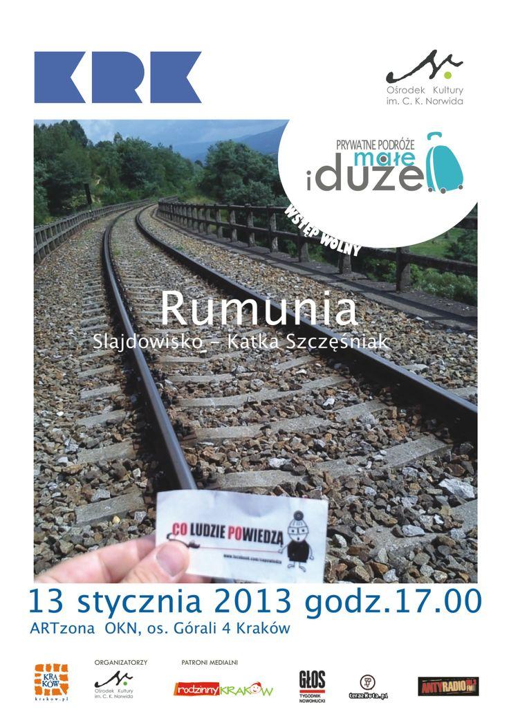 Styczeń 2014 w Rumunii z Katką Szczęśniak.