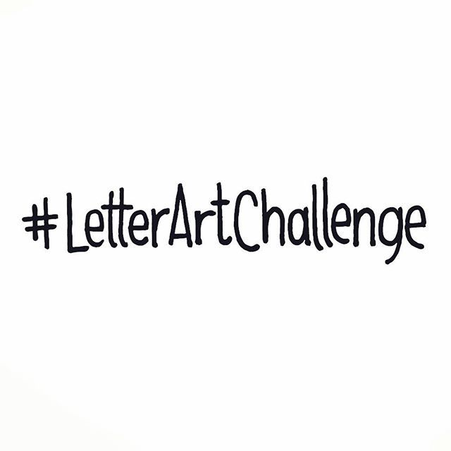 It is live ! It is week 1 of #letterartchallenge and the letter is A. Download template on our blog (link in bio) or simply just create your own. All mediums, all ages, all welcome. Have fun and don't forget to tag #letterartchallenge, so we can see your creations. #weeklychallenge #letterart #creativefun #inspiration #joinus