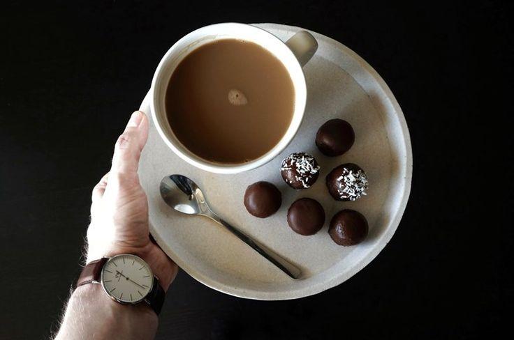 Sjokoladeboller (Sukkerfri, glutenfri, melkefri, vegansk)