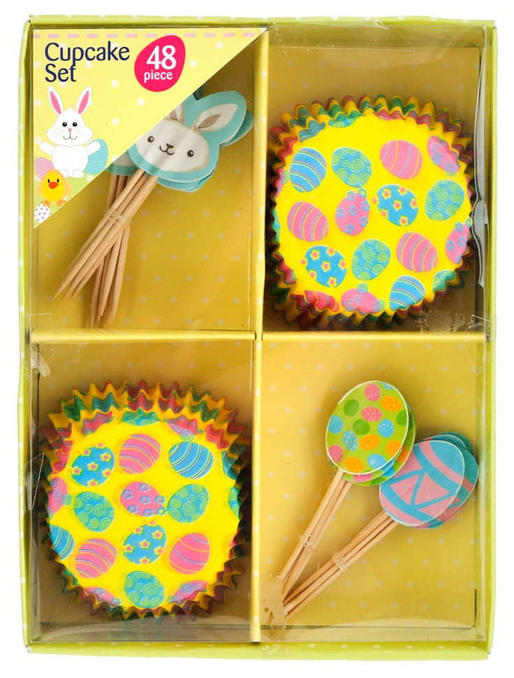 £1 cute Easter themed cupcake set 2013. Check out our 2014 Easter range